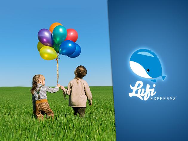 Lufi minden mennyiségben! Héliummal felfújt tartós fólia, illetve party léggömbök szuper áron!