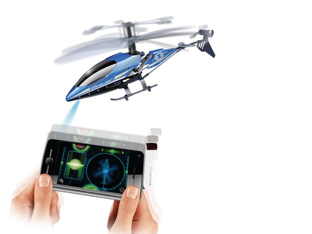 Okostelefon-vezérlésű Intelligens Helikopter