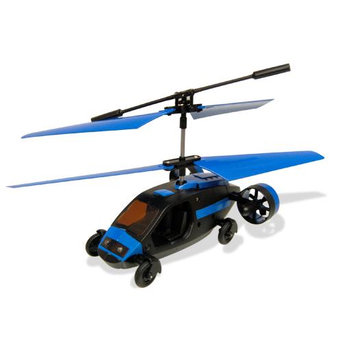 RC Égi Taxi – távirányítható helikopter és versenyautó egyben!