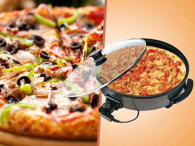 Elektromos pizzasütő és grillező 9.990 Ft helyett 6.290 Ft-ért!