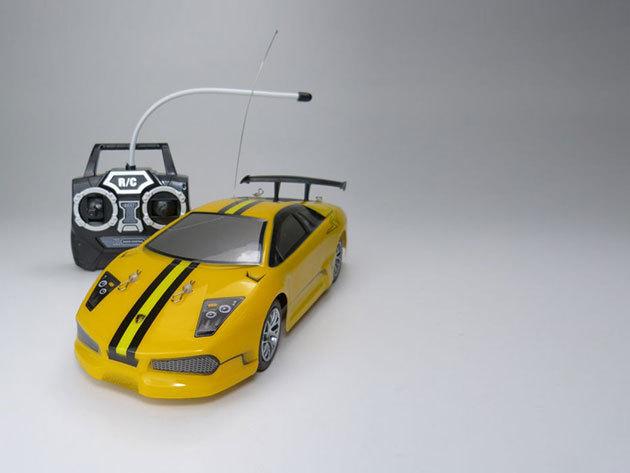 Távirányítású autó (Sárga)