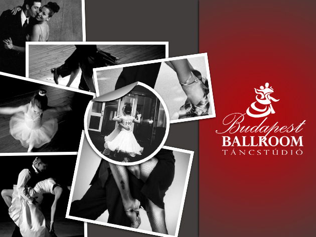 8 alkalmas bérlet a Budapest Ballroom Táncstúdió felnőtt kezdő és haladó társastánc tanfolyamaira!