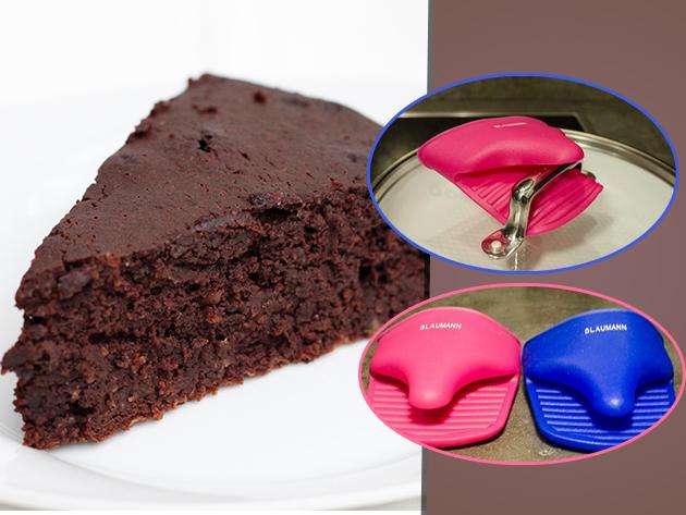 A legjobb társ a sütés során - Szilikon edényfogó kesztyű 2690 Ft helyett 990 Ft-ért!