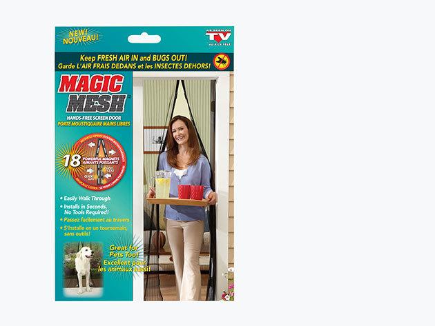 Magic Mesh - Mágneses ajtó szúnyogháló (100×210 cm)