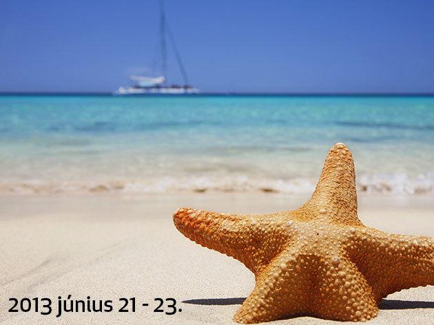 Hosszú hétvége az olasz strandon (2013 június 21 - 23.)