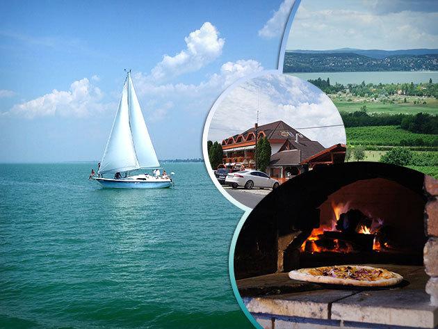 Balatoni nyaralás 2 fő részére 'All inclusive light' ellátással (reggeli, ebéd, vacsora) Zamárdiban!