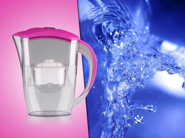 Tiszta vizet a pohárba! Vízszűrő kancsó szűrőbetéttel 5.990 Ft helyett 3.990 Ft-ért!
