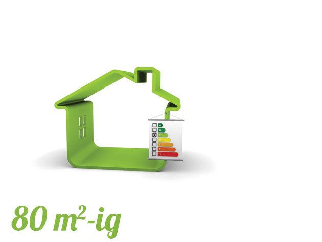 Energetikai tanúsítvány lakásra 80 m2-ig