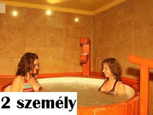 2 személyes sófürdő
