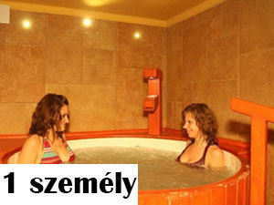 1 személyes sófürdő