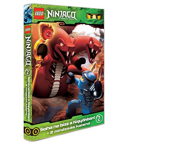 LEGO Ninjago 2.-es DVD (6)