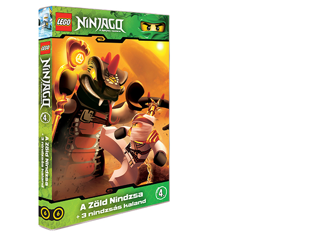 LEGO Ninjago 4.-es DVD (6)