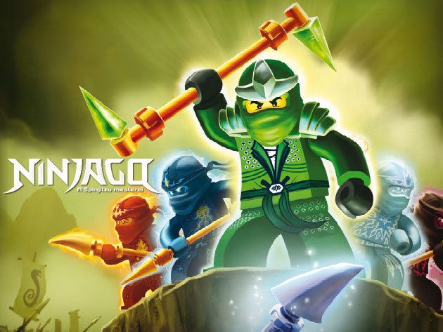 A gyerekek imádni fogják: LEGO Ninjago (6) rajzfilmsorozat csak 799 Ft. / DVD!