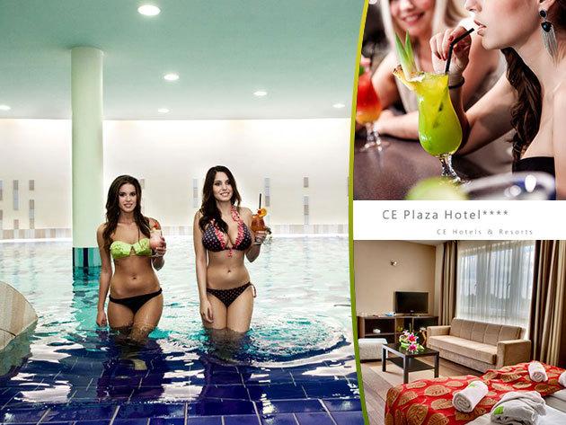 4*-os siófoki nyaralás és wellness - 3 nap/2 éj, szállás reggelivel 2 fő részére!