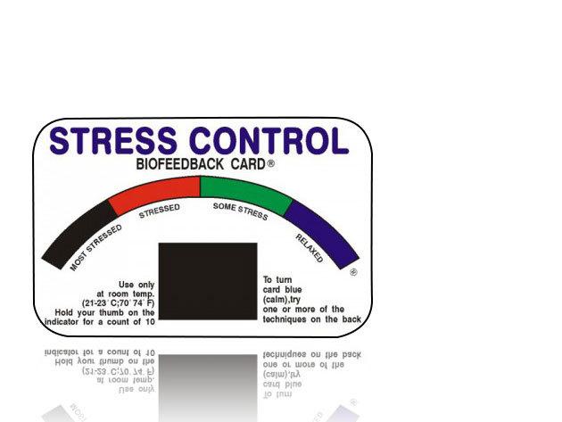Stresszkártya