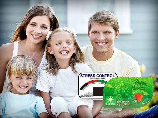 Nano energiakártya + Stresszkártya a jó közérzetért!