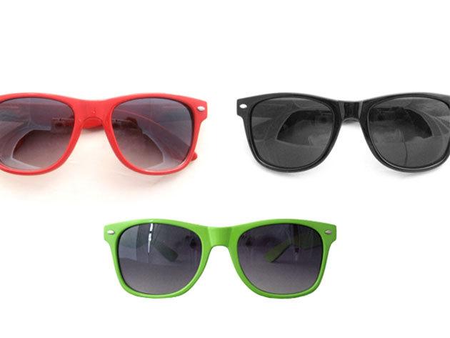 Színes Retro napszemüveg