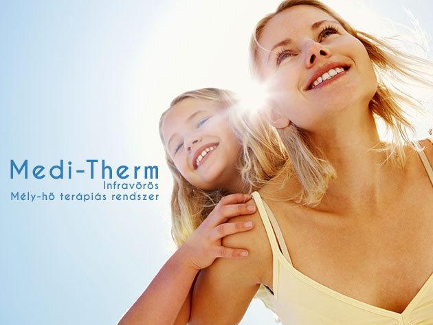 Medi-Therm infravörös mélyhő- terápiás rendszer + ajándék BioLicht energialámpa!