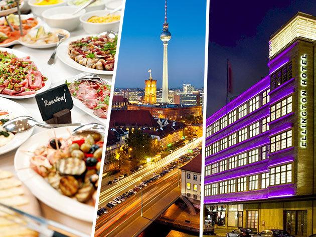 3 nap/2 éj Berlin központjában reggelivel, 2 fő részére: Ellington Hotel Berlin ****