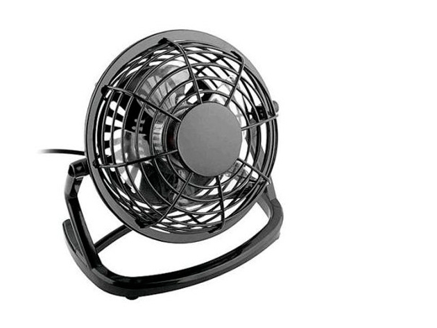 Hangtalan ventilátor USB kimenettel