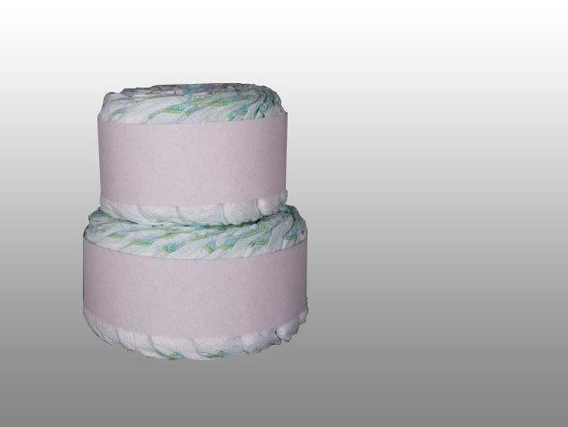 2 emeletes Twisted Cake pelenkatorta