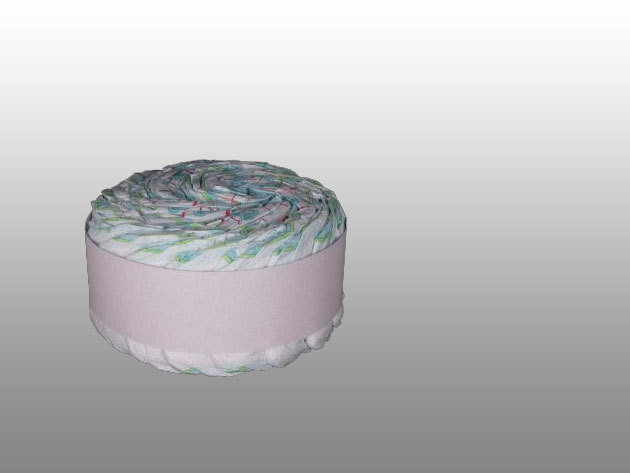 1 emeletes Twisted Cake pelenkatorta