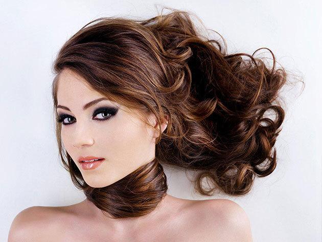 Hajvágás gőzbúrás hajgeneráló pakolással