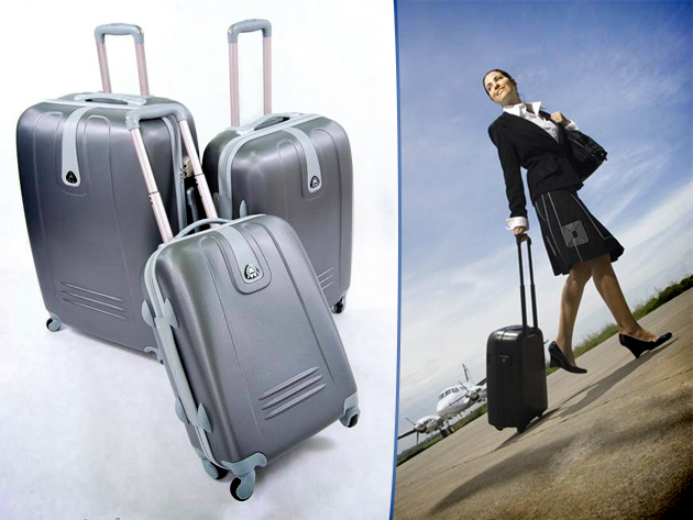 411ba6f0e6ef Ultrakönnyű, ABS műanyag bőrönd szettek – a nyaralás elengedhetetlen  kellékei!
