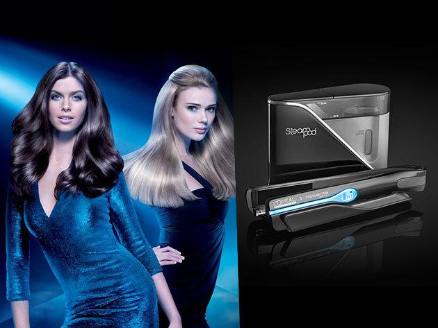 L'Oréal Steampod hajszerkezet újraépítő kezelés Pro-Keratinnal, fejmasszázzsal 3.990 Ft-ért!