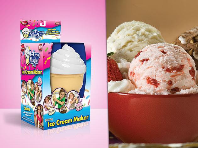 Gyerekjáték a fagyi készítés! Ice Cream Maker 6.200 Ft helyett 2.990 Ft-ért!