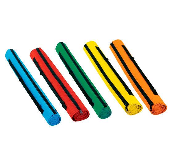 Strandgyékény pamut tokkal - kék, narancs, piros, sárga, zöld