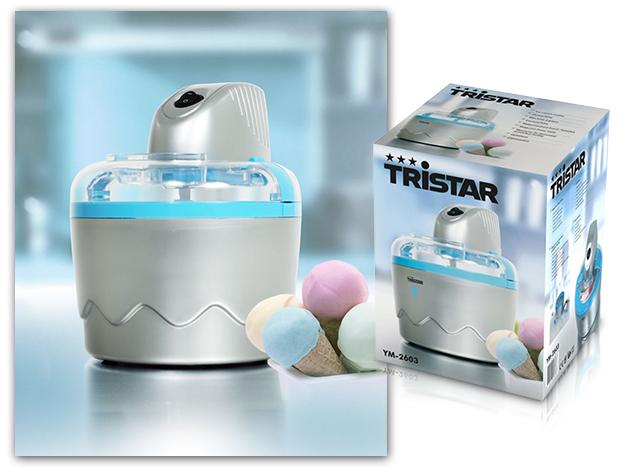 Készítsd el a nyár legfrissítőbb desszertjeit a Tristar fagylaltgéppel!