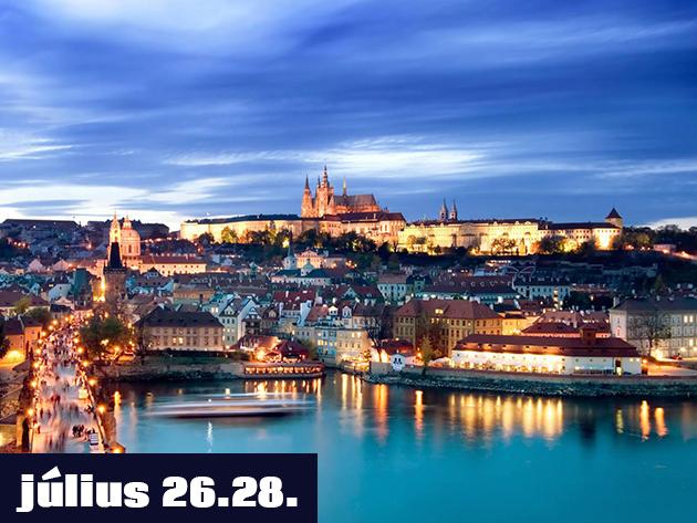 Kirándulj Prágába Autóbusszal! 2013. júl. 26-28