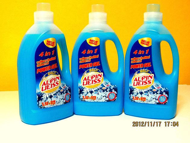 1 db Alpin-Weiss 1,5 literes mosógél