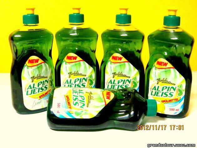1 db Alpin-Weiss 500 ml-es mosogatószer koncentrátum