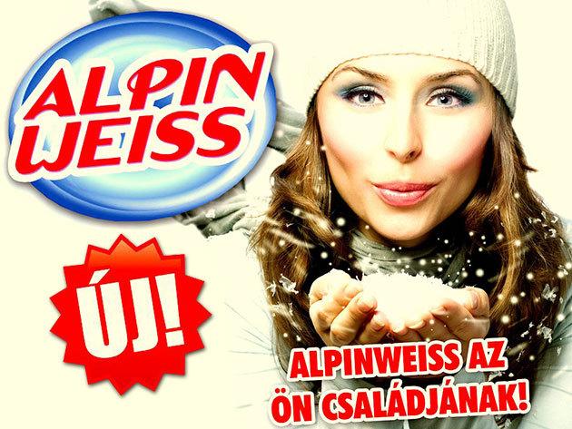 Alpin-Weiss tisztítószer család - eredeti német minőség, megfizethető áron!