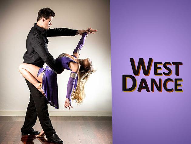 Két alkalmas (2x1,5 órás) társastánc oktatás a West Dance Tánc-stúdióban 990 Ft-ért!
