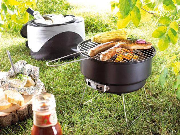 Irány a szabadba! Piknik grill készülék hordozható táskával 6.705 Ft-ért!