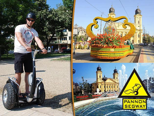 Debreceni Segway túra a virágkarneváli héten – fedezd fel másképp a cívisvárost!