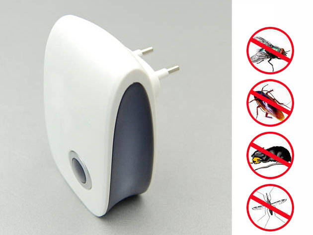 Pest Reject - Ultrahangos szúnyogriasztó, rovar és rágcsáló stop, 2.990 Ft-ért!