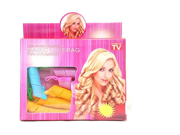 Magic Leverag - hajgöndörítő - hajformázó készlet