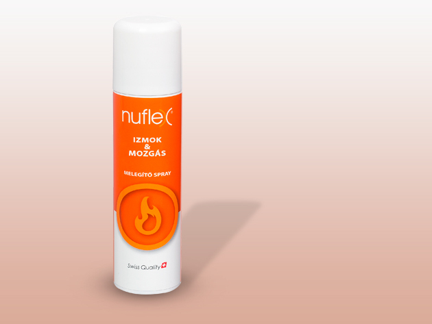 Nuflex Melegítő Spray 150ml