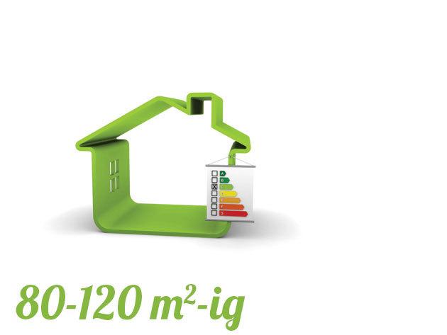 Energetikai tanúsítvány lakásra 80-120 m2