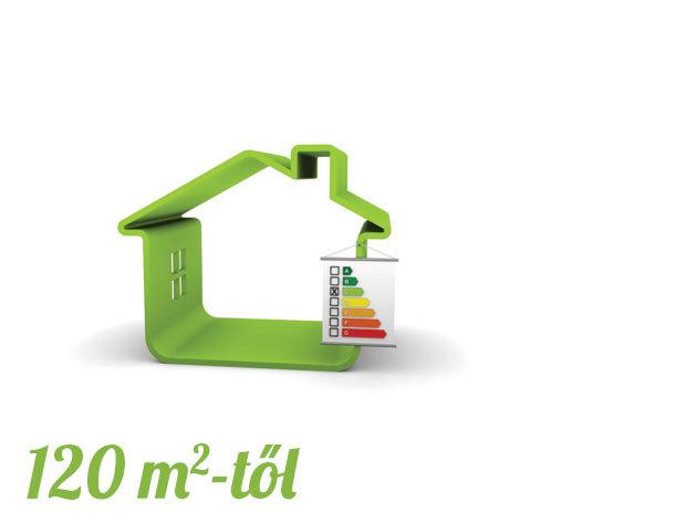 Energetikai tanúsítvány lakásra 120- m2