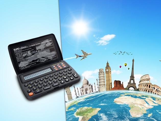 Az Elam 7 nyelvű fordítógéppel gyerekjáték lesz a kommunikáció külföldön is!