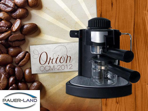 Kezd frissen a reggelt! 4 személyes ORION kávéfőző 6.990 Ft helyett 4.190 Ft-ért!