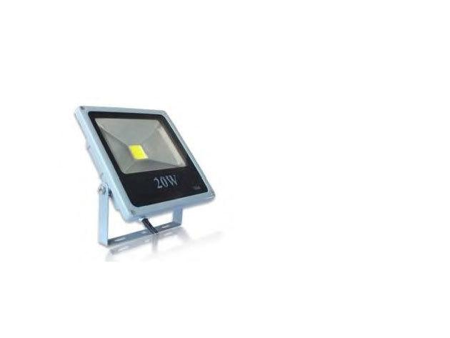 20W Kültéri COB LED reflektor melegfehér 1460 lm IP66 (PL-SL-20W-WW)