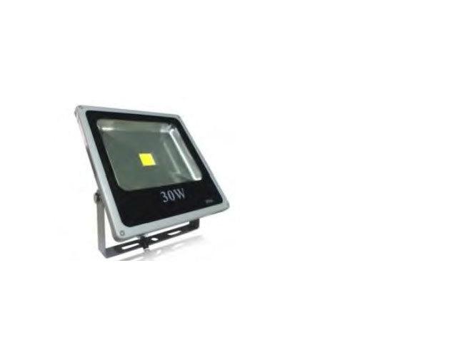 30W Kültéri COB LED reflektor hidegfehér 2550 lm IP66 (PL-SL-30W-CW)