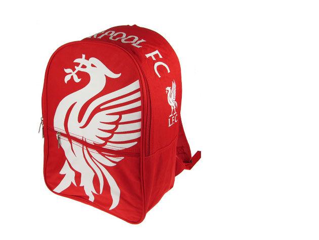 Liverpool FC focis iskolatáska