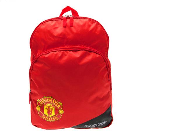 Manchester United focis iskolatáska